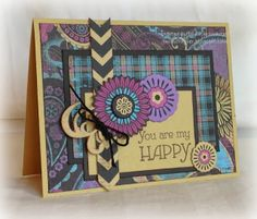 card by Gina Brandstetter using CTMH Laughing Lola paper