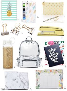 Shop: Fashionable Back-to-School Supplies