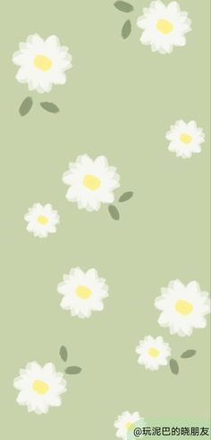 Red Daisy, Aesthetic Backgrounds, Graphic Design Posters, Wallpapers, Illustrations, Green, Cute, Flowers, Anime