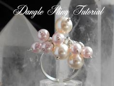 Dingle Dangle Ring.  A Wire Wrap Tutorial