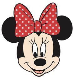 Lazo de Minnie Mouse para imprimir - Imagui