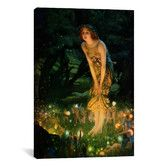Found it at Wayfair - 'Midsummer Eve, C.1908' by Edward Robert Hughes Painting Print on Canvas