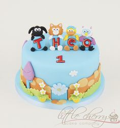 Timmy Time Cake by Little Cherry Cake Company, via Flickr