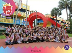 Bienvenido el #violetaJ16 a #WaltDisneyWorld...ya estamos copando #Disney con #enjoy15!!!