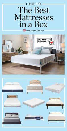 The Best Mattresses In A Box Handy Affordable Mattress Affordable Mattress, Cheap Mattress, Mattress In A Box, Best Mattress, Foam Mattress, Casper Mattress Reviews, Mattress Cleaning, Mattress Comparison, Construction Bedroom