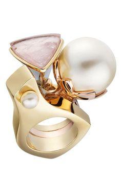 Monsieur Dior Pearl Ring, $590