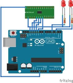 Arduino web server for home automation project to control the home appliances using the web browser. Arduino connected to enc28j60 ethernet module to get internet capability.
