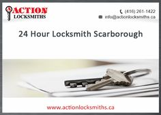 Looking for a locksmith in scarborough whos open 24/7? Guess what? We're your guys! Tag someone who might need to save our number.