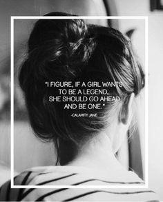 #LegendaryWoman