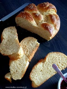 Słodkie Rewolucje: Chałka Drożdżowa Home Bakery, Polish Recipes, French Toast, Food And Drink, Cooking Recipes, Sweets, Bread, Breakfast, Easter