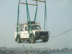 Land Rover Defender 110 Td5 Sw County transport Szar-Treks