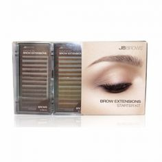 Brow Extensions Starter Kit- Brow Extensions are waterproof, sweat proof, and safe for sensitive skin!