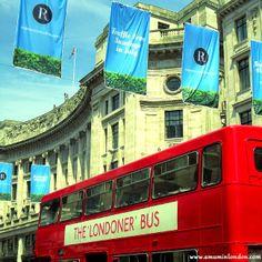 Bus Cavalvade Regent Street | A Mum in London