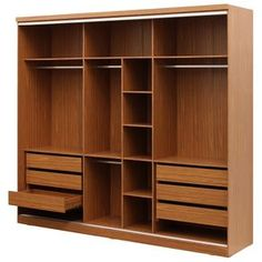 Wooden Wardrobe, Wardrobe Design Bedroom, Luxury Bedroom Design, Bedroom Furniture Design, Bedroom Wardrobe, Home Room Design, Bathroom Interior Design, Wardrobe Door Designs, Closet Designs
