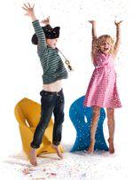 FJU-studio-confetti - Flux Chair is available at LoopeeDesign.com