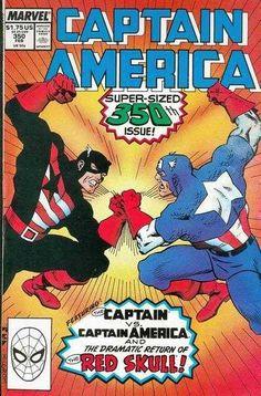 Captain America #350, 1989