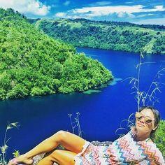 Photo via | ligiakleber  What a view! Tufi #blended #blessed #nature #adventure #underrated #papuanewguinea #tufi #wild #wildlife #sunsalutation