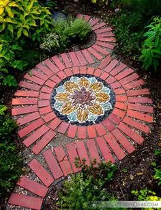 25 creative garden path paving ideas | #garden #paving Awesome...