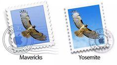 Mavericks vs Yosemite: Mail