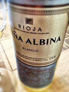 El Alma del Vino.: Bodegas Riojanas Viña Albina Blanco 2014.