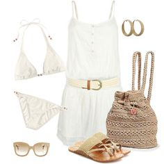 A fashion look from May 2012 featuring ONLY dresses, H&M bikinis und Chinese Laundry sandals. Browse and shop related looks.