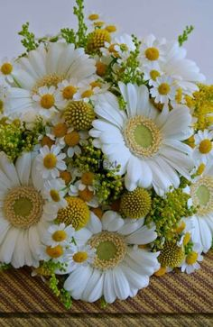 New Ideas for wedding bouquets daisies gerbera Daisy Bouquet Wedding, Gerbera Daisy Bouquet, Bridal Flowers, Gerbera Wedding, Daisies Bouquet, Flower Bouquets, Yellow Bouquets, Daisy Love, Arte Floral