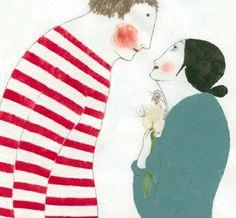 by Elena Odriozola Elena Odriozola, Collages, Alexander Calder, Portraits, Children's Book Illustration, New Artists, Figurative Art, Art Studios, Love Art
