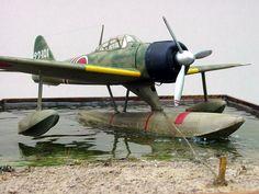Nakajima A6M2-N Rufe Floatplane by Ian Robertson (Hasegawa 1/48)