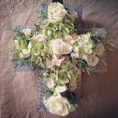 Centerpiece we did for Colette's Christening Luncheon