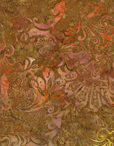 Timeless Treasures Batiks - Berry Crisp
