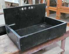 Slate or Soapstone sink