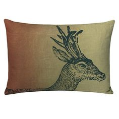 Kevin O'Brien Stag Pillow