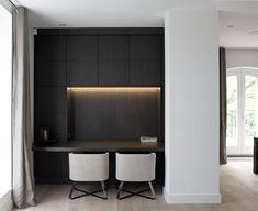 Top 70 Best Modern Home Office Design Ideas – Contemporary Working Spaces Office Nook, Home Office Desks, Office Furniture, Study Room Design, Design Living Room, Modern Home Offices, Home Design, Interior Design, Design Homes