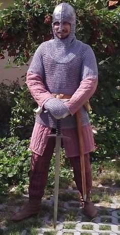 Chain Mail, Sword, Armour, Medieval, Men Sweater, Sweaters, Fashion, Moda, Chain Letter