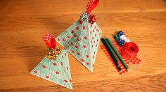 Tutorial: How to make a pyramid gift box
