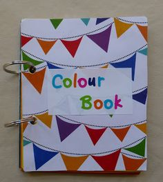 Craftulate: Homemade Colour Book using paint chips! Brilliant!