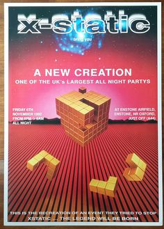 Gone To A Rave #52: A Treasure Trove Of Rave Flyers (Part 2)   The Ransom Note