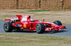 Ferrari F2008 F1 Car - Marc Gene
