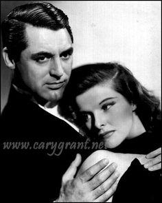 """""""The Philadelphia Story"""" My favorite actors, Cary Grant and Katherine Hepburn, what a pair for one of my all time favorite best movies!"""