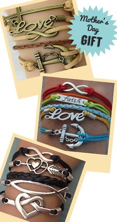 Choose your favorite 3 bracelets for FREE! Just pay the shipping! Free bracelet deal ends 5/12/15. Coupon: 3formom.  www.gomodestly.com/3-for-mom/   Our mothers are pillars of faith and encouragement.  Show her your appreciation with our one of a kind bracelets.