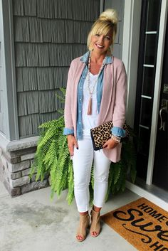 3fb52618aec Living on Cloud Nine Pink Cardigan Outfits