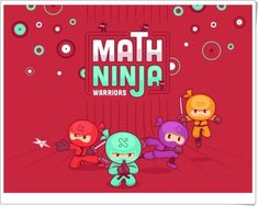 Solve Math is a game where you have to solve the equals answer by given random numbers and mathematic symbols. Ninja Warrior, Homework, Symbols, Teaching Ideas, Mental Calculation, Maths Area, Educational Games, Teaching Resources, Activities