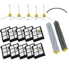 $25.36 (Buy here: https://alitems.com/g/1e8d114494ebda23ff8b16525dc3e8/?i=5&ulp=https%3A%2F%2Fwww.aliexpress.com%2Fitem%2F1-Tangle-Free-Debris-Extractor-Set-SideBrushe-Hepa-Filter-For-iRobot-Roomba-800-900series-870-880%2F32775539154.html ) 1 Tangle-Free Debris Extractor Set & SideBrushe & Hepa Filter For iRobot Roomba 800 900series 870 880 980 Vacuum Cleaning Robots for just $25.36