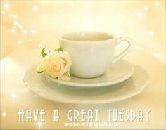 Have a great Tuesday ... Facebook . Com / we heart graphics . Com