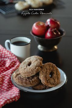 Old fashioned apple cider donut recipe