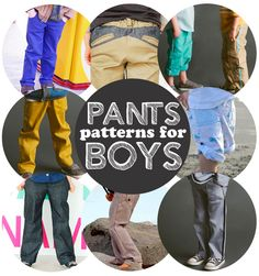 Pants sewing patterns for boys | Go To Sew