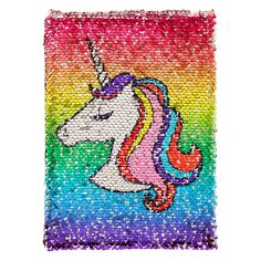 Reversible Unicorn To Donut Sequin Diary | Claire's FR