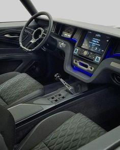 Pin by michael gravenstreter on car audio ideas Custom Car Interior, Car Interior Design, Truck Interior, Car Interior Upholstery, Automotive Upholstery, Custom Trucks, Custom Cars, Smart Roadster, Vw Lt