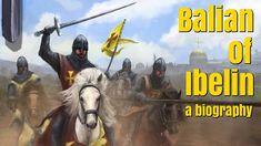 A participação de Balian de Ibelin e na Batalha de Montgisard é mencionada neste vídeo.