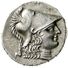 Tetradrachm 190-36 BC head of Athena with Corinthian helmet r. Nike goes left, keep Taenie over brisure. 16.1 g. BMC 41. very fine / extremley fine    Dealer  Teutoburger Münzauktion & Handel GmbH    Auction  Minimum Bid:  150.00EUR